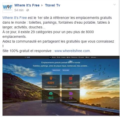 Parution de Where It's Free sur TravelTV